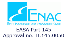 Approved EASA part-145 Organization