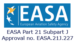 Approved EASA part-21J Organization